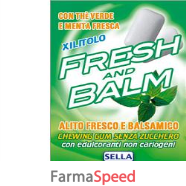fresh and balm chewing gum 28g