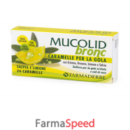 mucolid bronc salvia & limone 24 caramelle