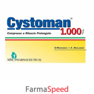 cystoman 1000 12 compresse