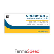 ARVENUM*60 cpr riv 500 mg
