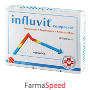influvit*16 cpr 150 mg + 300 mg + 150 mg