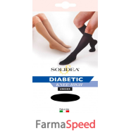 DIABETIC KNEE-HIGH NERO 4-XL