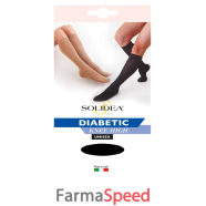 DIABETIC KNEE-HIGH NERO 5-XXL