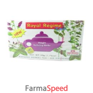 royal regime tea 25buste