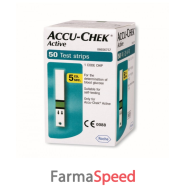 accu-chek active 50str new