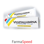 vegetallumina antidolore*gel 120 g 10%