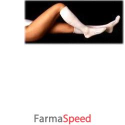orione 22 gambaletto antitrombosi regular paio bianco m