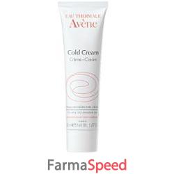 eau thermale avene cold creme crema per pelli sensibili 40 ml