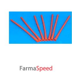 cannula rettale per neonati diametro 8mm lunghezza 10cm. foro terminale e cono