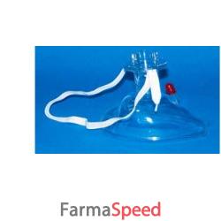 mascherina oronasale adulti per rianimazione d'emergenza. dispositivo per la rianimazione bocca a bocca.