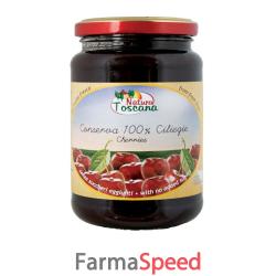 natura toscana conserva di ciliegie senza dolcificanti 380 g
