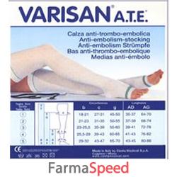 varisan ate 18 mmhg monocollant destro punta aperta colore bianco misura 1 1 pezzo