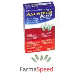 strisce misurazione glicemia elite 25 pezzi