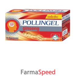 pollingel ginseng 10 flaconcini 10 ml