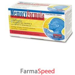 memory formula 10 flaconcini 10 ml