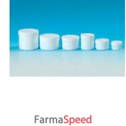 vasetto polipropilene bianco coperchio vite cc 20