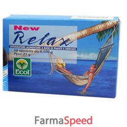 new relax 50 tavolette