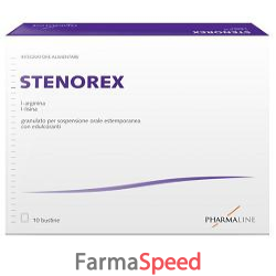 stenorex 10 bustine