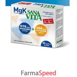 sanavita mgk magnesio e potassio 30 bustine da 4,5 g