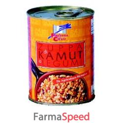 mix pronto di kamut e legumi bio 400 g