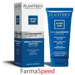 acido ialuronico crema doposole anti eta' 100ml
