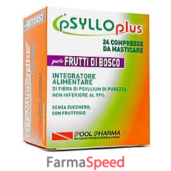 psyllo plus frutti bosco 24 compresse