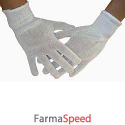 guanti filo cotone polsino elastico 8,5