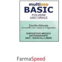 multizeo basic polvere uso orale 200 g