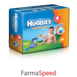 huggies superdry 4 8/14 kg 17 pezzi