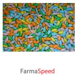 confettini di liquirizia all'anice arcobaleno 10 buste 10 g