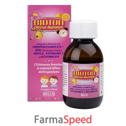 bioton difesa bambini sciroppo 120 ml