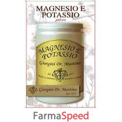 magnesio e potassio polvere 180 g