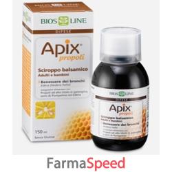 apix propoli sciroppo balsamico senza conservanti 150 ml