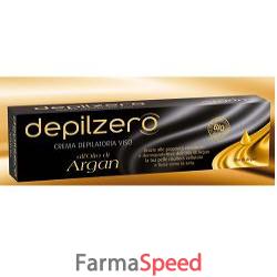 depilzero crema viso argan 150 ml
