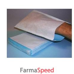 manopola impermeabile non saponata colore azzurro 100 pezzi