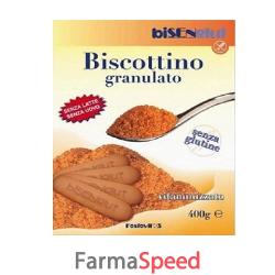 fosfovit biscotto granulare senza glutine bisenglut 400 g