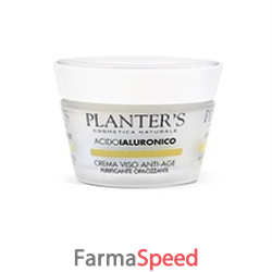 planters acido ialuronico crema viso purificante new 50 ml