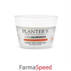 planters acido ialuronico crema viso ricompattante new 50 ml