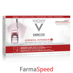 dercos aminexil fiale 21 donna 6 ml