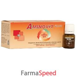 aminovit plus coenzima q10 10 flaconcini 10 ml