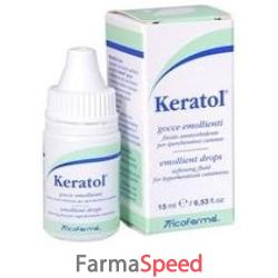 keratol gocce emollienti 15 ml