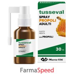 tusseval gola propoli spray per adulti 30 ml