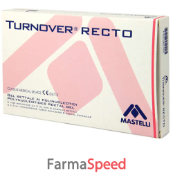 turnover recto gel rettale 6 microclismi monodose da 5ml