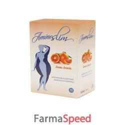 aminoslim arancia 10 bustine 100 g