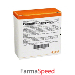 pulsatilla comp 10f 2,2ml heel