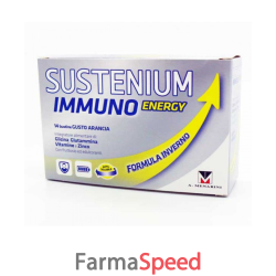 sustenium immuno energy promo 14 bustine