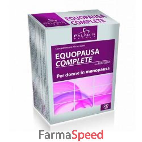 EQUOPAUSA COMPLETE 20 COMPRESSE- Farmaspeed.it