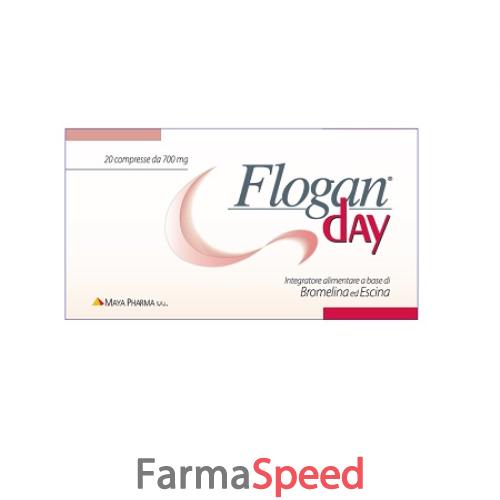 FLOGAN DAY 20 COMPRESSE- Farmaspeed.it