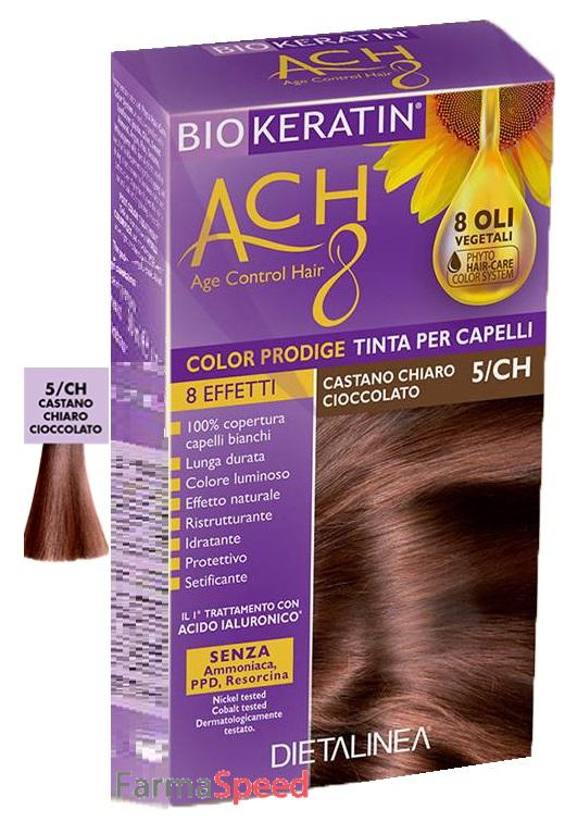 Biokeratin Ach8 Color Prodige 5ch Castano Chiaro Cioccolato
